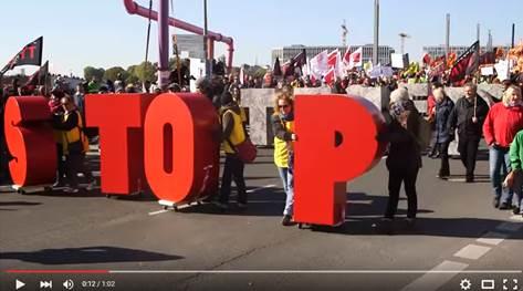 Rekord 250.000 gegen TTIP & CETA auf der Straße